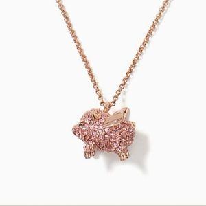 🐷Kate Spade Imagination Pave Pig Necklace